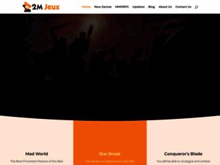 le 2ème monde des jeux virtuels 2mjeux.com