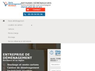 3 devis déménagement Bordeaux