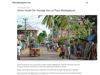 Week-end écotouristique à Madagascar