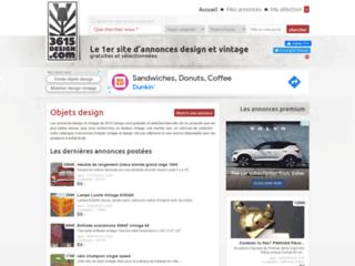 Capture du site http://www.3615design.com