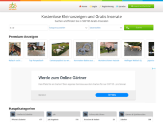 365Swiss - Petites annonces en Suisse