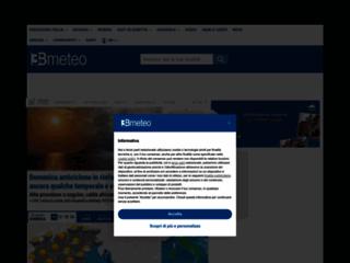 Meteo e Previsioni del tempo in Italia - 3BMeteo.com