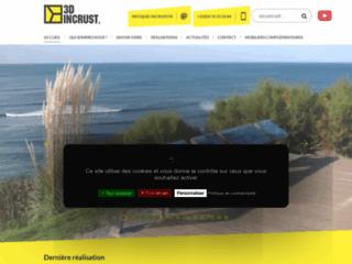 Capture du site http://www.3d-incrust.fr