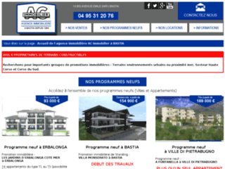 Agence immobiliere AC Immobilier à Bastia