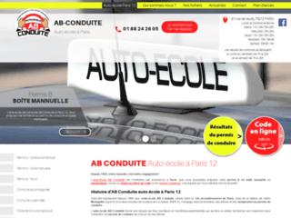 Auto-école AB Conduite à Paris 12