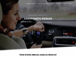 Abripoints Permis - Récupération de points, Auto-école, Tests psychotechniques | abripoints.fr