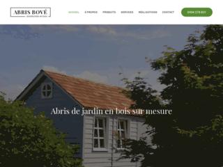 Détails : Abris Bové : votre fournisseur d'abris de jardin