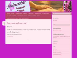 Esthéticienne à domicile sur Toulouse et environs sur http://www.absolumentbelle.fr