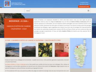 Chambre d'hôtes  Calenzana : A Casa