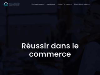 Capture du site http://www.accession-commerce.fr