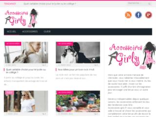 Accessoires-girly.fr, vente en ligne de bijoux