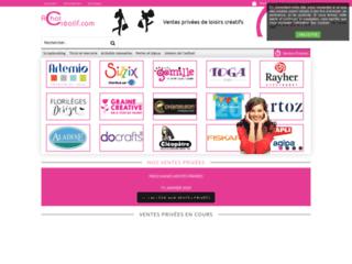 Achat-creatif - ventes privées de fournitures créatives