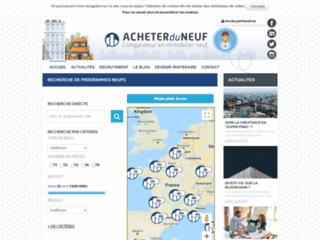 Détails : Biens immobiliers neufs en France