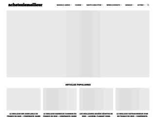 Comparatifs indépendants et guides d'achats