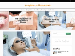 Acouphenes et hyperacousie sur http://www.acouphenes-hyperacousie.com/