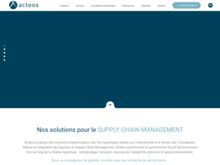 logiciel supply chain