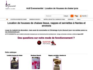 Location de housse de siège à Nantes et masques de protection