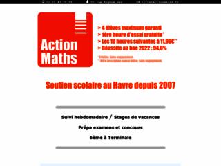 Action Maths : du soutien scolaire au Havre
