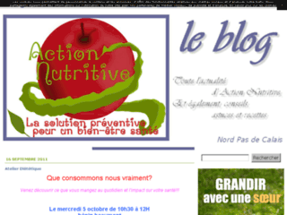 Action Nutritive, le blog