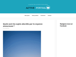 Blog officiel de Active Portail