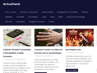 Détails : Annuaire actualiweb.com