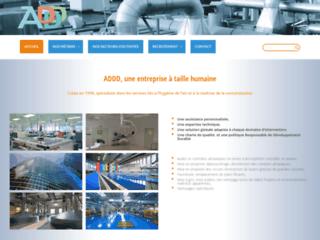 ADDD Mise à blanc de salle propre et désinfection et décontamination des réseaux de ventilation