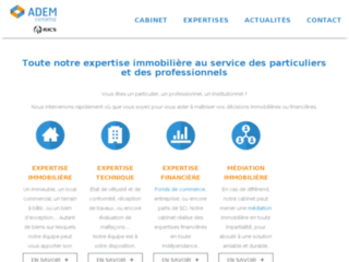 Adem Expertise : expert immobilier judiciaire