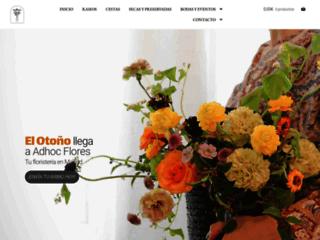 Detalles : Adhoc Flores