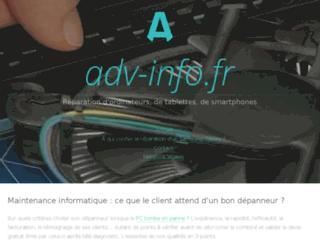 Capture du site http://www.adv-info.fr