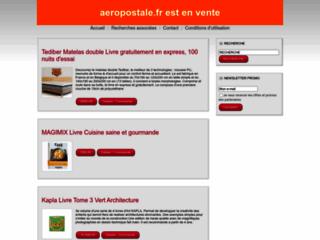 Aeropostale.fr :: Jeu gratuit de gestion d'une compagnie a?postale