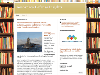 Aerospace Defense Insights: Submarine Combat Systems Market   Industry Analysis and Market Forecast to 2022