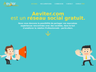Détails : Aeviter - Spécialiste en réclamations client