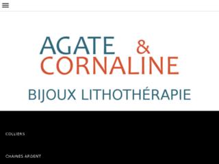 Agate & Cornaline - Création de bijoux en pierres fines et argent - Lithothérapie