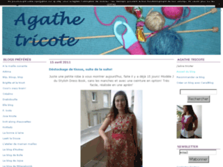 Blog de tricot- Agathe tricote