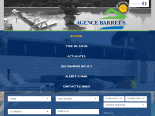 Détails : Agence Barret S. immobilier
