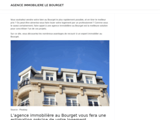 Agence Immobiliere le bourget