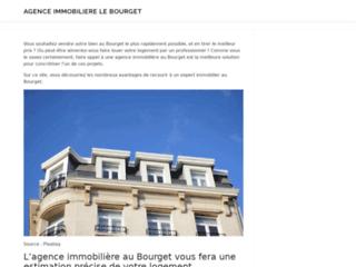 Détails : Agence Immobiliere le bourget