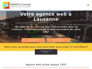 Détails : Agence web globale à Lausanne (Suisse)