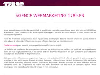 Capture du site http://www.agenceinternet.net