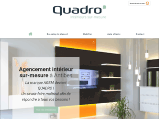 Quadro, conception de solutions d'agencement sur mesure à Antibes