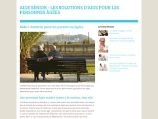 Capture du site http://www.aide-seniors.fr