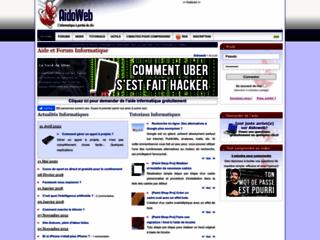 Aidoweb - Aide et Forum Informatique