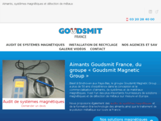Vente aimants, systeme detection metal, France