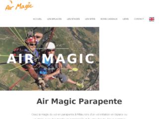 Week-end sport en Aveyron: Air Magic Parapente Millau