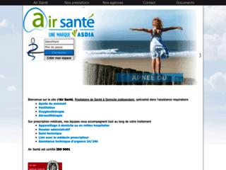 Location et vente de matériels de ventilation sur http://www.air-sante.fr