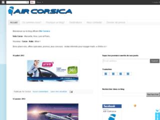 Air Corsica Blog