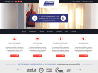Détails : Airterm : votre spécialiste en détection d'incendie