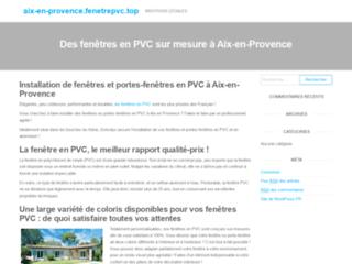 Détails : Fenêtre Aix en Provence