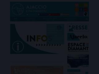Site officiel de la ville d'Ajaccio