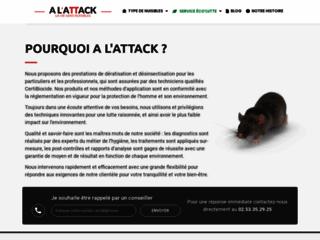 Détails : A L'Attack : pour déguerpir les nuisibles